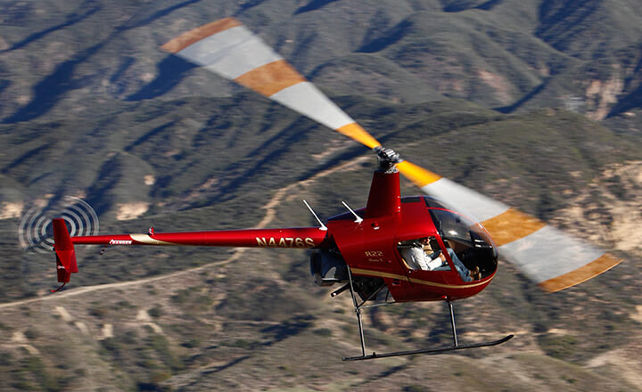 Robinson Helicopter Company has issued a new safety alert after receiving a report of a cracked AO16-6 main rotor blade on an R22 helicopter used for cattle mustering. Robinson Photo