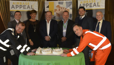 Wiltshire Air Ambulance has created The 100 Club specifically for businesses who want to raise funds towards completing the building and equipping of the new airbase. WAA Photo