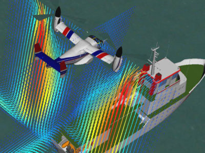 To provide pilots with optimal preparation for challenging conditions, engineers at the Technical University of Munich (TUM) are developing new simulation software. Technical University of Munich Photo
