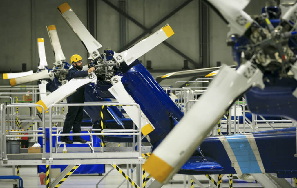S-92 operators must perform inspections of the tail rotor and bearing assemblies before returning the aircraft to service. Heath Moffatt Photo