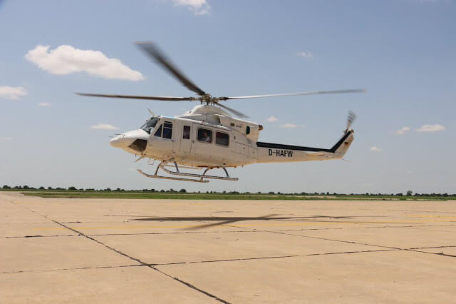 The support provided by GHS greatly enhanced the UN Humanitarian Air Service emergency evacuation of injured civilians and provided an immediate solution to all of the non-governmental organizations onsite. GHS Photo