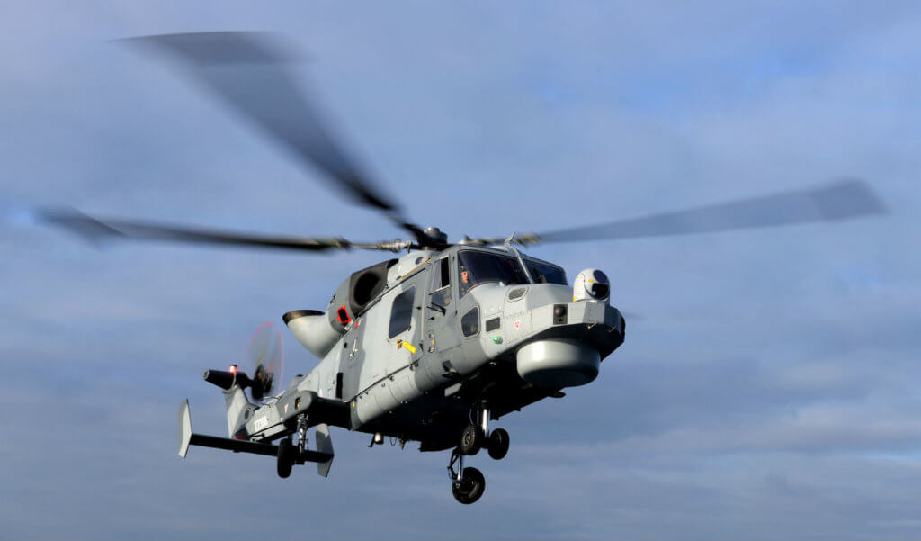 The WIST contract will support the 62 AW159 Wildcats now in-service with the British Army and Royal Navy for the next five years as part of an ongoing contract. MoD Photo