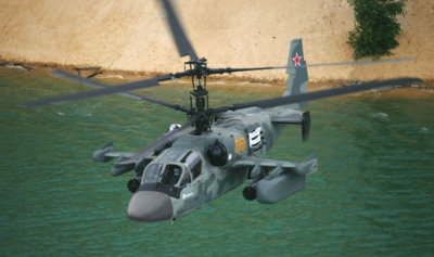 This year's first Ka-52 Alligator, built at Progress, has already successfully and fully completed all ground and flight tests required by the technical terms and conditions of the government contract. Russian Helicopters Photo
