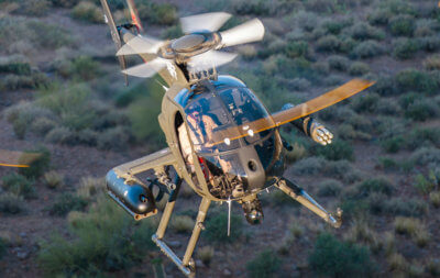 L3's recent orders have MX-Series systems configured to tactical helicopters, including Bell's 407 and 406, Eurocopter's AS350 and EC120, and MD Helicopter's MD 530. L3 Photo