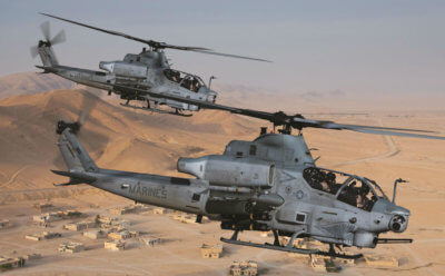 Unlike other attack helicopters, the AH-1Z Viper has integrated air-to-air strike capability in addition to superior air-to-ground anti-armor performance, which makes it the ideal platform to meet the requirements of land warfare scenarios in any of the potential hot spots around the world. Bell Photo
