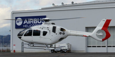 The Airbus H135 will be deployed for emergency medical service operations for the Nara Prefecture from February onwards. Airbus Photo