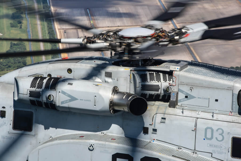 With improved fuel efficiency and maintainability, the CH-53K should be less expensive to operate than the CH-53E.