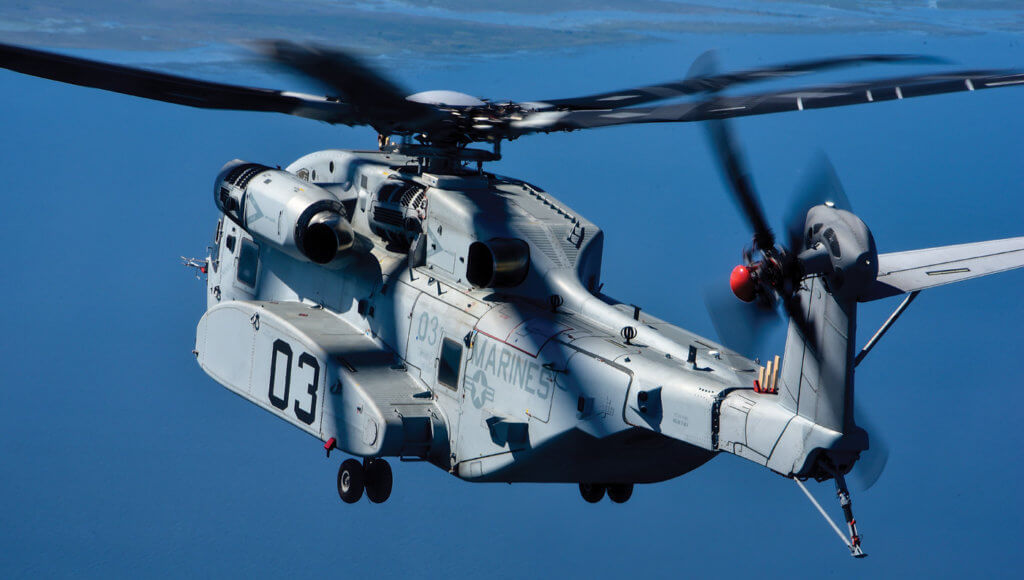 Sikorsky CH-53K helicopter