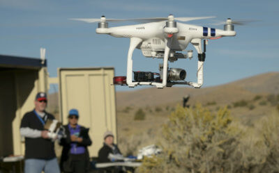 NASA's 'out-of-sight' tests, conducted in coordination with the Federal Aviation Administration and several partners, were the latest waypoint in solving the challenge of drones flying beyond the visual line-of-sight of their human operators without endangering other aircraft. Frequentis Photo