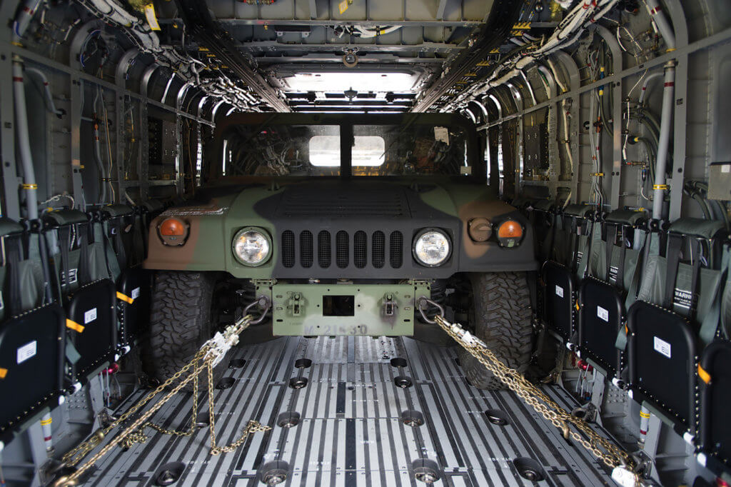 The CH-53K has a built-in winch and a wider cabin interior than its Super Stallion predecessor. Sikorsky Photo