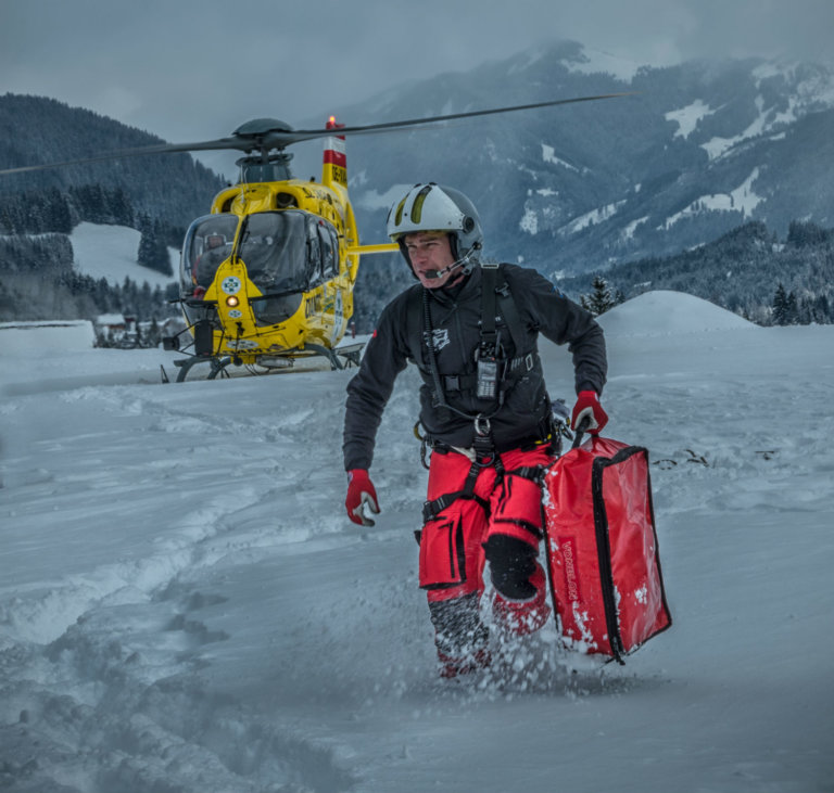 Christophorus 8 at an avalanche rescue mission in Austria. Photo submitted by Nieder-Wolfs-Gruber Photography