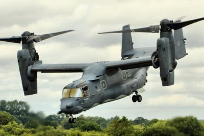 The CV-22 Osprey takes to the air at the Royal International Air Tattoo in 2015. Tim Felce Photo