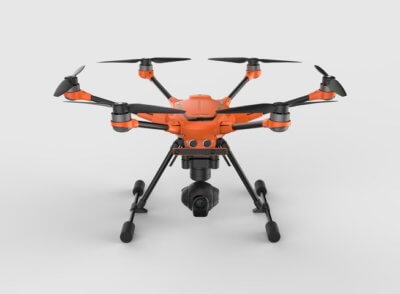 The new H520 builds upon Yuneec's proven six-rotor platform and incorporates the industry's first commercial-grade features and software developer kit. Yuneec Photo