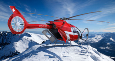 Marenco Swisshelicopter will display a full-scale mock-up of the SKYe SH09 single-turbine helicopter during HAI Heli-Expo in Dallas, Texas, March 7 to 9.