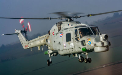 The Westland Lynx will soon be retiring from the Royal Navy after more than four decades of service. Sam Whitfield Photo