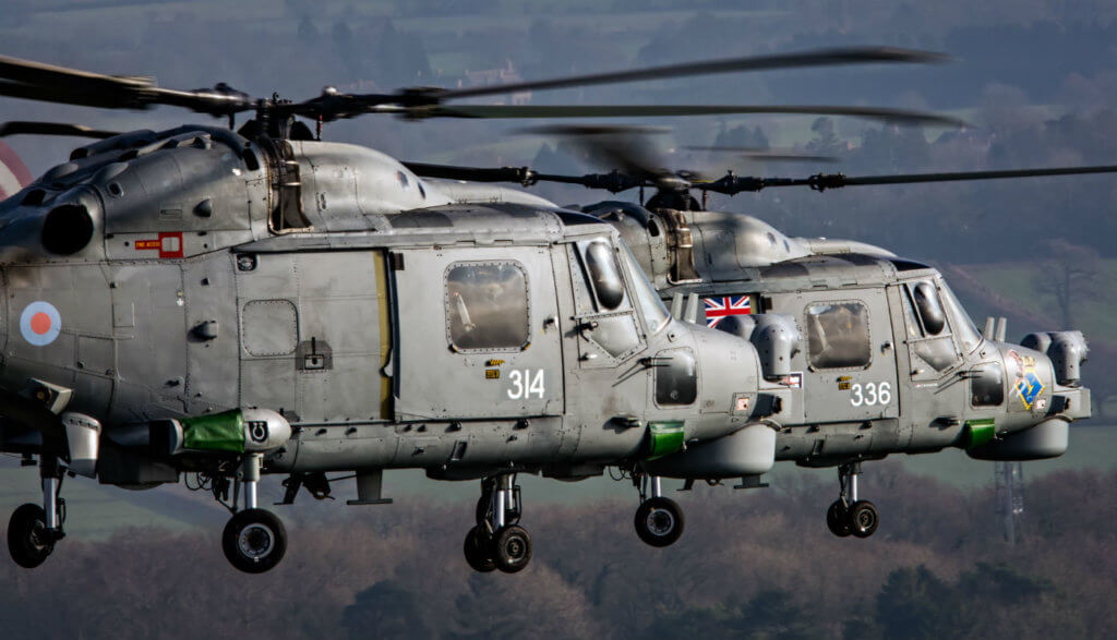 While the maritime Lynx will no longer fly with the Royal Navy, variants of the Lynx continue in service throughout the world. Sam Whitfield Photo