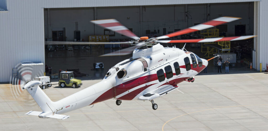 When certified, the 525 will be the first commercial fly-by-wire civil part 29 helicopter. Bell Helicopter Photo