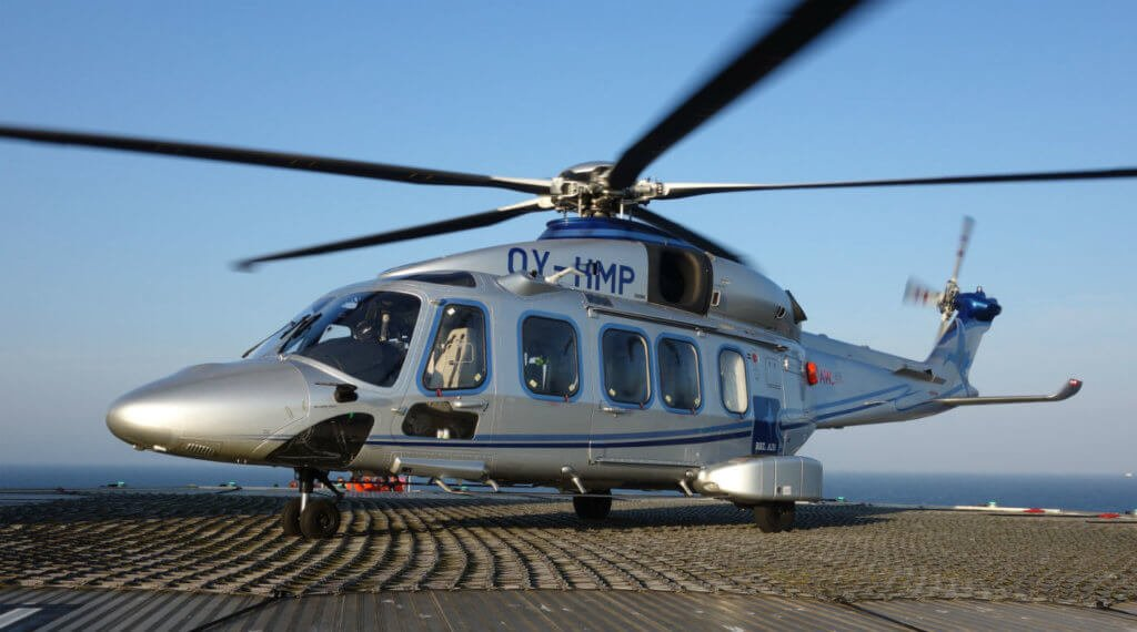 Bel Air recently reached even greater levels of capability upon installing the Limited Icing Protection System onto the two AW189s. Leonardo Photo