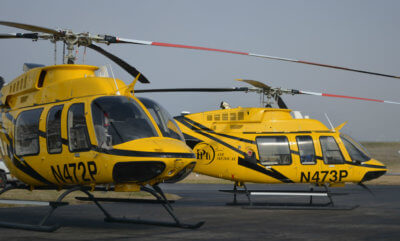 PHI Air Medical recently took delivery of its first two EMS-configured Bell 407GXs helicopters. Wysong Photo