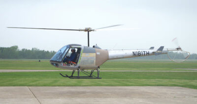 Enstrom resumed flight testing of the TH-180 with the second prototype, helicopter N181TH, on May 26, 2016, after the first prototype was severely damaged during a hard landing in February 2016. Enstrom Photo