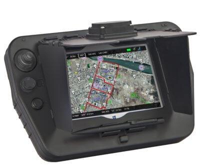 GECO UAS controller closeup