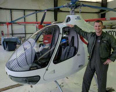 Revolution Aviation recently became the first operator in California to take delivery of a French-built Guimbal Cabri G2. Revolution Aviation Photo