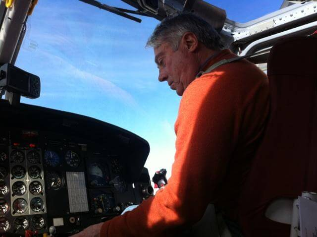 Richard Alzetta has flown with Calgary, Alberta-based Mountain View Helicopters for the past 20 years, where he has specialized in mountain flying instruction, utilizing his extensive experience having worked in the Pyrenees and Alps in Europe, Denali area in Alaska, and in Papua in Indonesia.