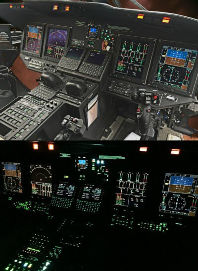 Aero Dynamix Inc. has received Transport Canada Civil Aviation validation approval for the Sikorsky S-76D Night Vision Lighting Modification, and the company is working on obtaining further international approvals. ADI Photo