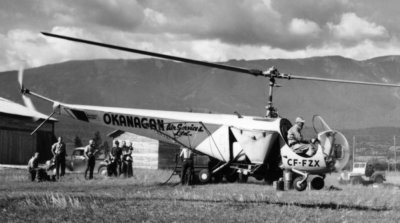 As Okanagan Air Services grew, it was renamed to Okanagan Helicopters Limited in 1952.