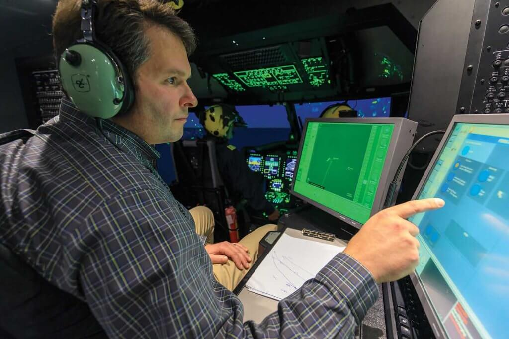 For Cougar's crews, it's a huge benefit to train in a simulator that allows them to perform complex operations in the inclement conditions they encounter in the North Atlantic.