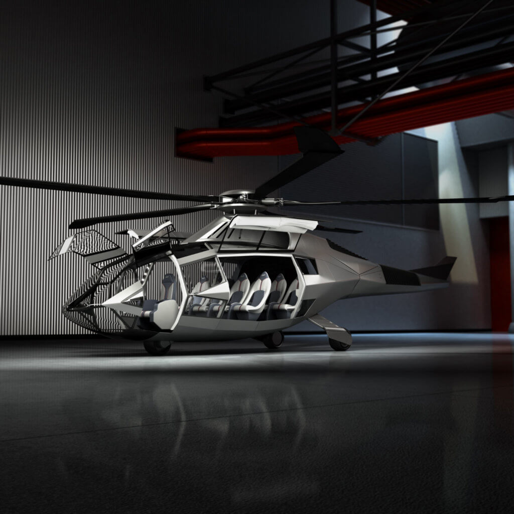 Bell Helicopter Unveils Futuristic Fcx 001 Concept
