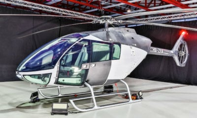 With the conversion of its fleet to SKYe SH09 helicopters, Alpinlift will consolidate this claim and further expand its sling load operations. Marenco Swisshelicopter Photo