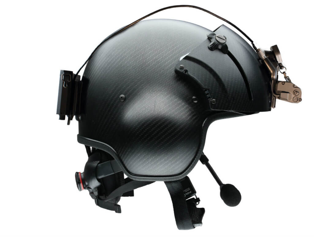 ASU's new battery pack and helmet mount were designed for a more rugged, lighter, comfortable mission experience. ASU Photo