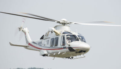 """The recent order reaffirms Milestone's commitment to the Leonardo """"family"""" of new generation helicopters adding to an order-book consisting of AW139s, AW169s and AW189s. Leonardo Photo"""