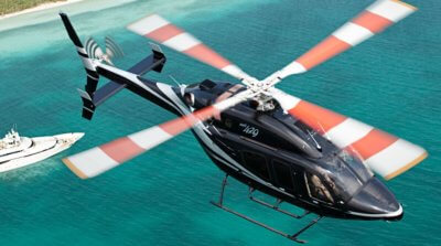 The state-of-the-art technology in the Bell 429 includes a fully integrated glass cockpit, advanced drive system, best-in-class satellite-based augmentation system navigation and IFR capability. Bell Helicopter Photo