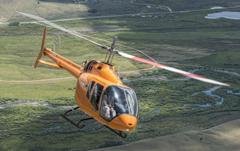Hawker Pacific is expected to deliver Australia's first Bell 505 Jet Ranger X to Nautilus Aviation by mid-2017. Bell Helicopter Photo