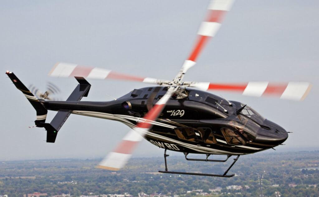Bell 429 in flight