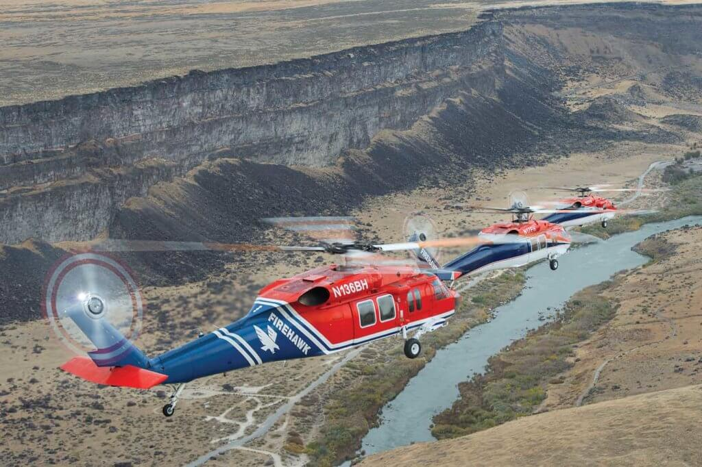 Presently, Firehawk provides four Black Hawks on exclusive use fire contracts and has two available as back-up aircraft.