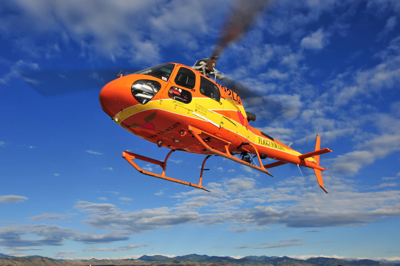 A Flight For Life AS350 B3. The design of the AS350 hydraulic system was at the center of the NTSB's investigation into the crash of a Flight For Life AS350 B3e on July 3, 2015. Mike Reyno Photo