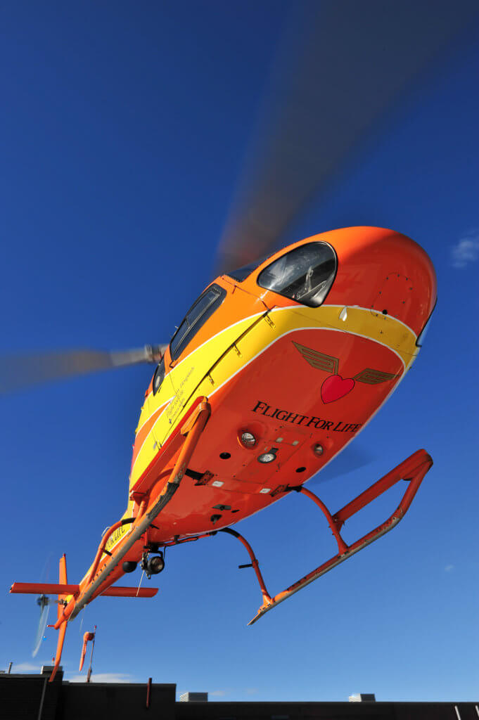 Air Methods operates around 400 helicopters in its air medical services division alone -- an enterprise that presents significant organizational challenges. Mike Reyno Photo