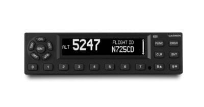 Garmin's GTX 345/335 transponders can now provide simple ADS-B In/Out upgrade paths for thousands of aircraft in Europe. Garmin Photo