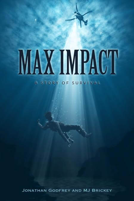 Jonathan Godfrey will be signing copies of Max Impact at HAI Heli-Expo 2017. Image courtesy of Jonathan Godfrey