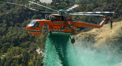 The Aircrane will be manufactured to include a firefighting helitank and foam cannon. Erickson Photo