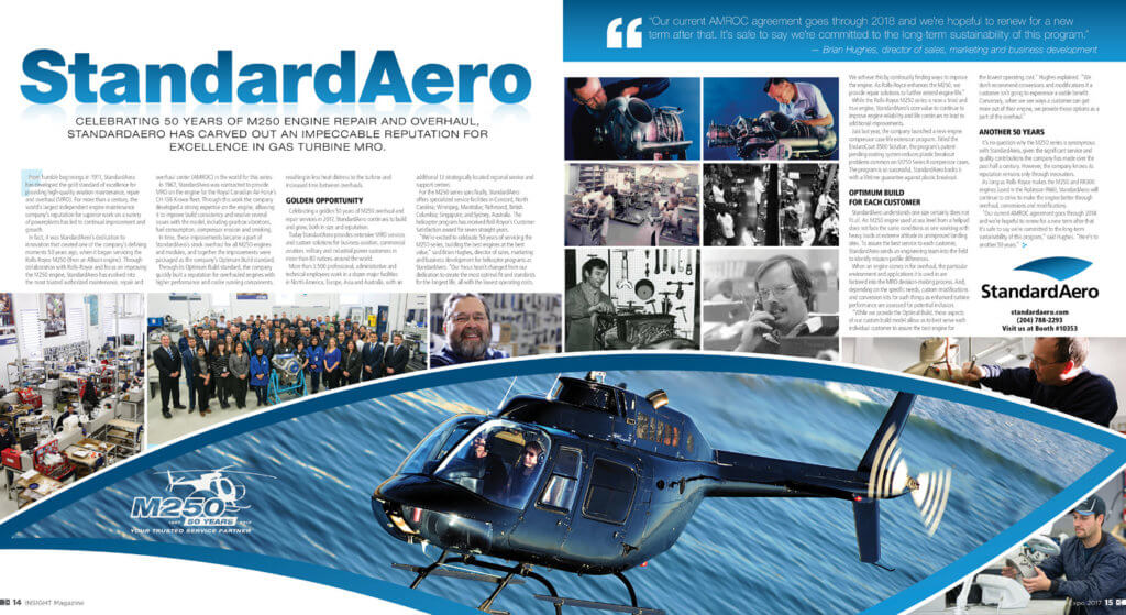 StandardAero Insight profile