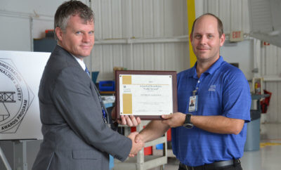The Aviation Maintenance Technicians (AMT) awards program was developed by the FAA to encourage technicians and employers to receive or promote initial and recurring maintenance training. Southeast Aerospace Photo