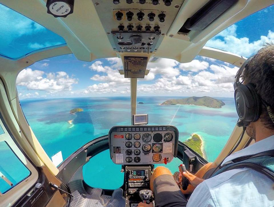 On approach to One&Only Hayman Island. Photo submitted by Instagram user @mike.pilot.jones