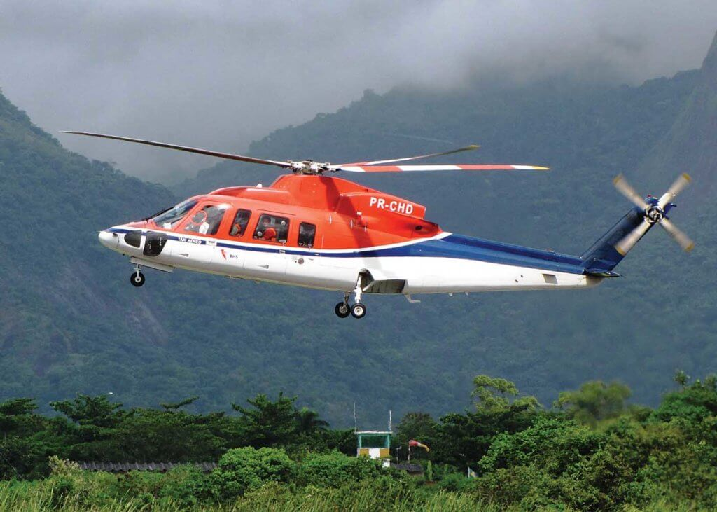 A CHC-operated Sikorsky S-76 in South America. Fessenden said the region was one of those that presented opportunities to expand its search-and-rescue and EMS work. Todg Williams Photo