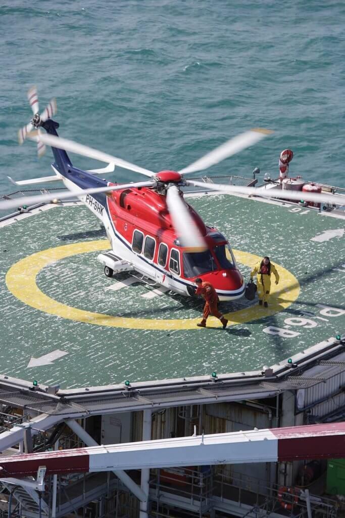 CHC now has 32 AW139s in its fleet -- down from 43 of the type pre-Chapter 11. CHC Photo