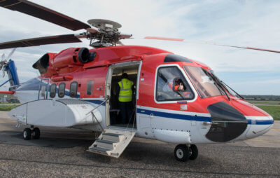 The contract will see a dedicated Sikorsky S-92 flying out of Cork Airport beginning this June and will once again see CHC work in conjunction with Lloyd's Register, as the wells project management company. CHC Photo