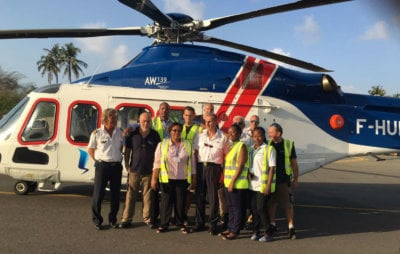 Héli-Union supported the operation with its AW139 helicopter for passenger transport and another AW139 for MEDEVAC service. This operation marks Héli-Union's first mission in Tanzania and first collaboration with BG Group. Héli-Union Photo